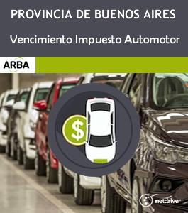 Pcia de Buenos Aires. Postergan los vencimientos del impuesto a las patentes