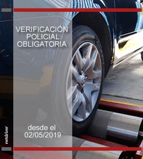Obligatoriedad de la verificación policial