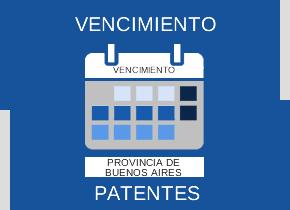 HOY. Vencimiento impuesto a las patentes. Provincia de Buenos Aires