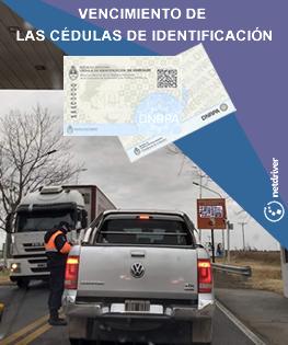 Vencimiento de las cédulas de identificación (variación de acuerdo a la opción titular registral)