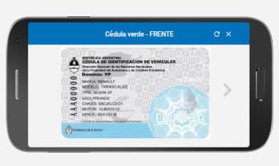Creación de las cédulas de identificación digitales